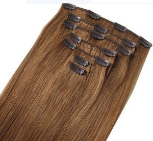 Bighair Clip-in extension brown 7p