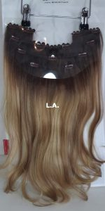 Balmain Hair Clip-in Weft MH L.A. achterzijde