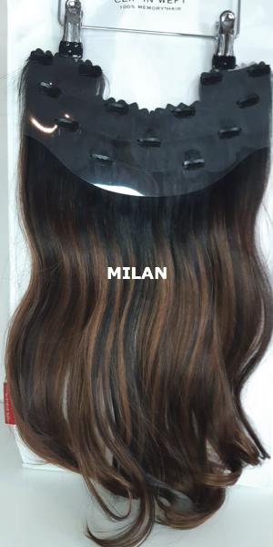 Balmain Hair Clip-in Weft MH MILAN achterzijde