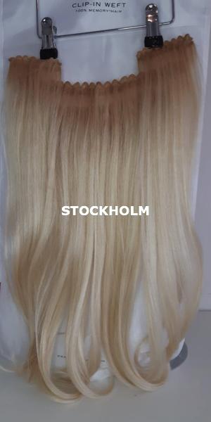 Balmain Hair Clip-in Weft MH STOCKHOLM voorzijde