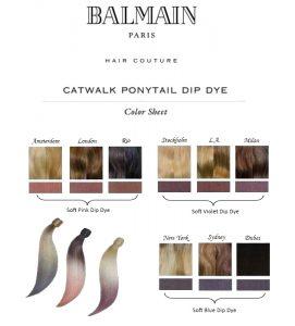 balmain-catwalk-ponytail-dip-dye-kleuren
