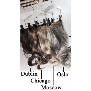 Balmain Hair Dress Oslo Chrystal Grey