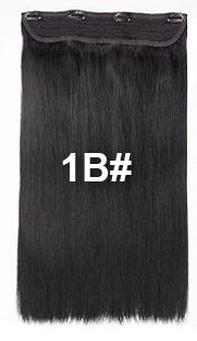 bighair 1 baan clip-in kleur 1B#