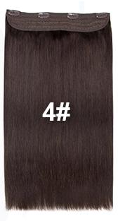 bighair 1 baan clip-in kleur 4#