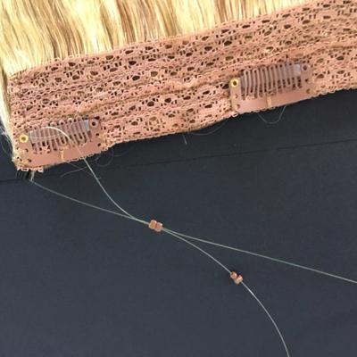 Bighair Wire Hair Extensions detail draad