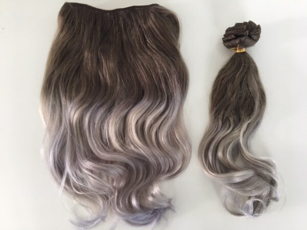 Bighair Wire Hair en Clip-in Extensions Ash 611