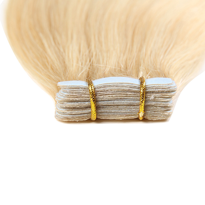 Bighair Tape Extensions detail blond