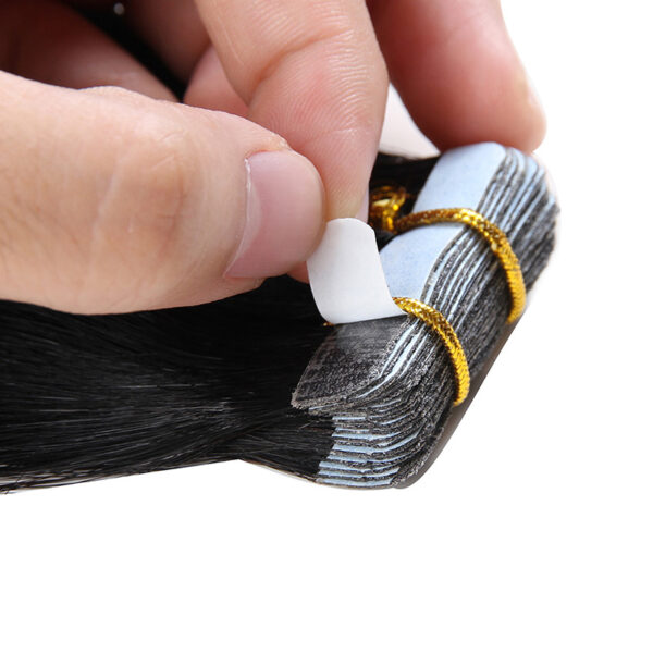 Bighair Tape Extensions detail zwart