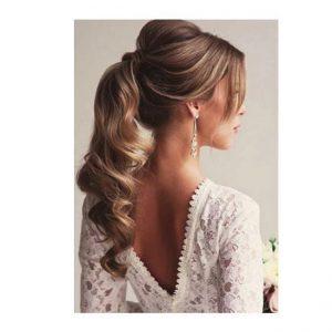 Balmain Hair Ponytail Soft Curl 50cm