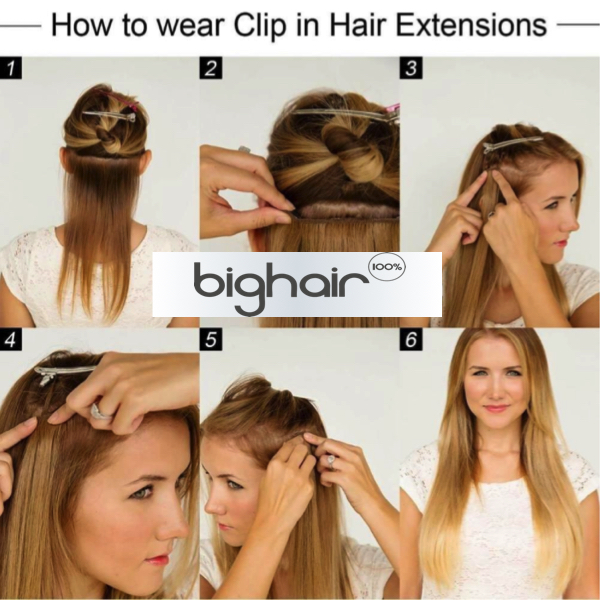 Bighair How To Wear Clip-in set