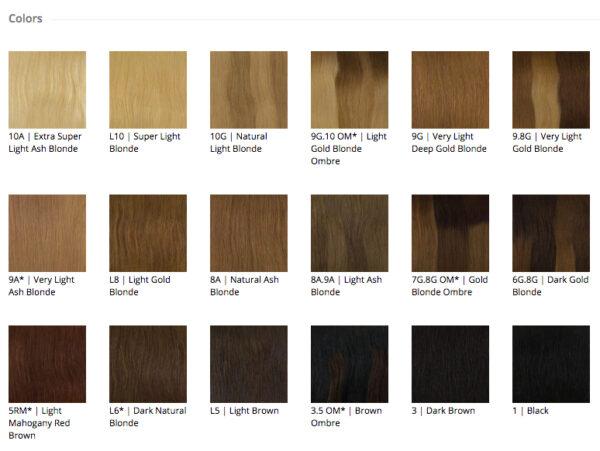 Kleurenkaart Balmain Hair