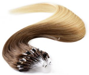 bighair micro ring loop extensions kleur T10:613#
