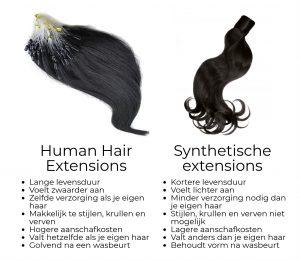 verschil-tussen-human-hair-synthetische-extensions