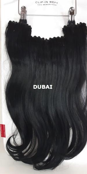 Balmain Hair Clip-in Weft MH DUBAI voorzijde