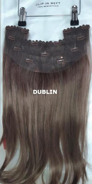 Balmain Hair Clip-in Weft MH DUBLIN achterzijde