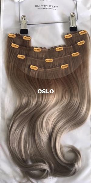 Balmain Hair Clip-in Weft MH OSLO achterzijde