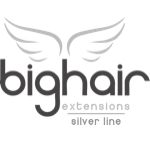 Bighair Tape Extensions Silver-Line